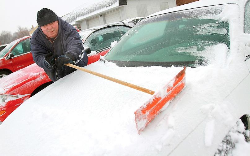 как ездить в снегопад