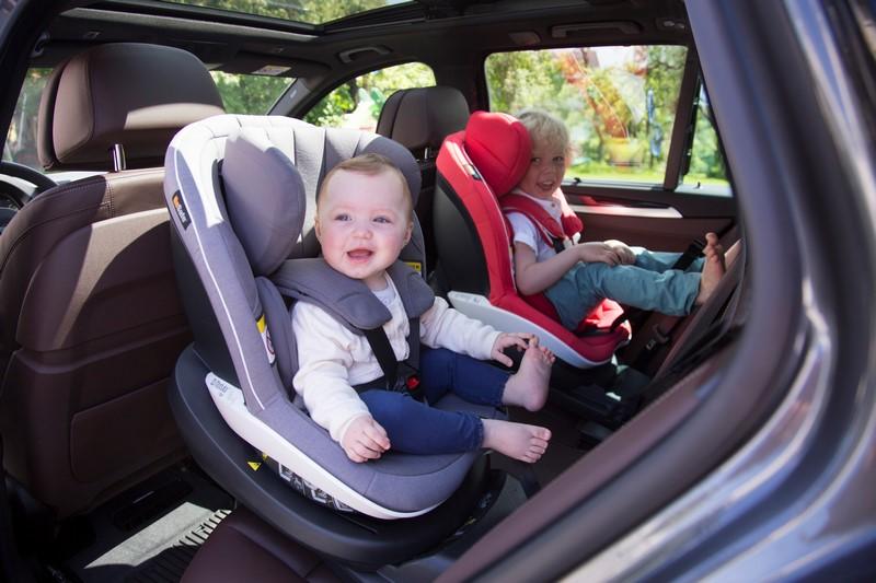 Где лучше всего устанавливать детское автокресло?